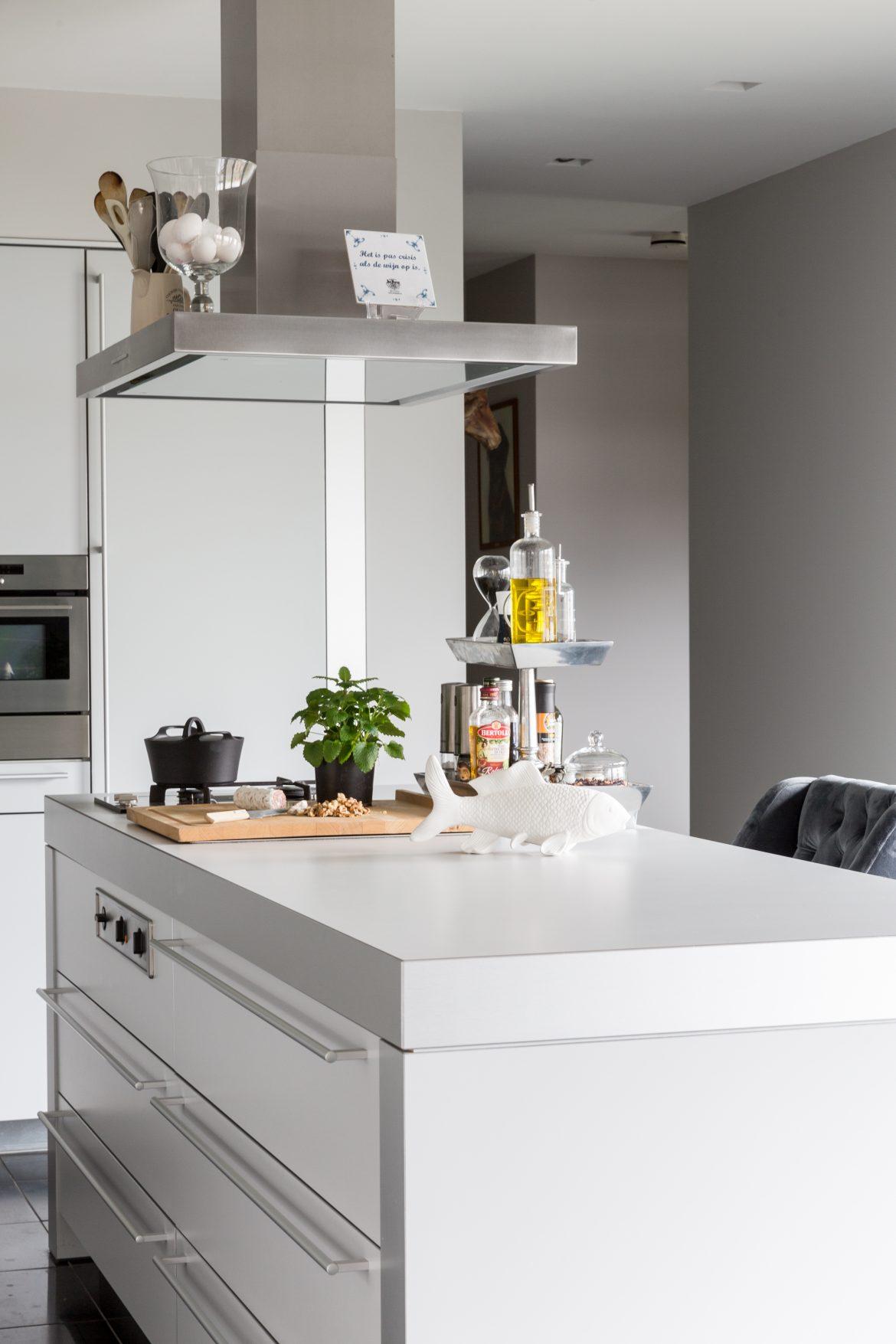 De keuken in het huis van familie Buijze aan de Borgmeren.