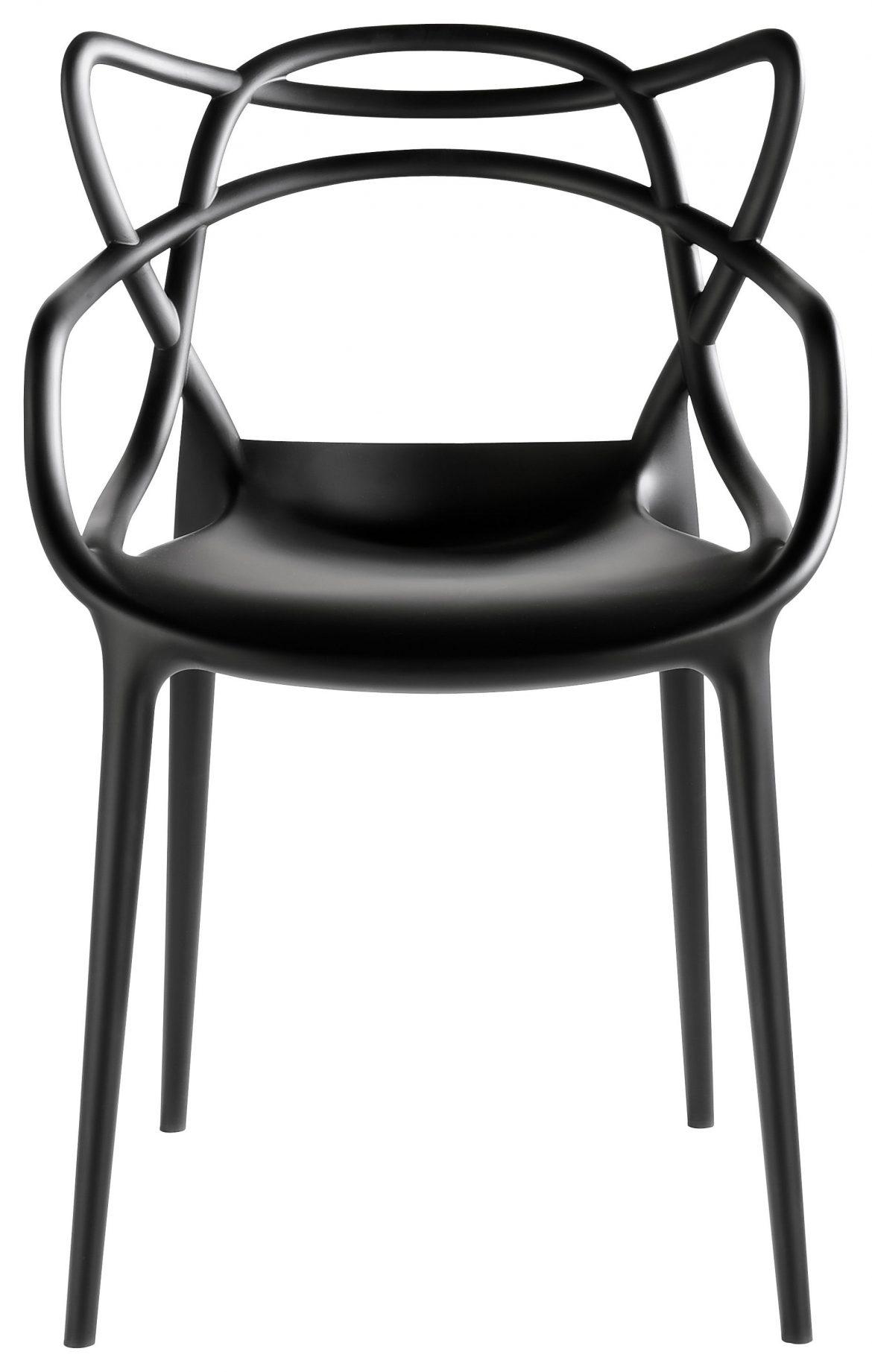 De Kartell Master stoel sluit perfect aan op de minimalistische woonstijl. Verkrijgbaar bij Vesta in het Woonforum.