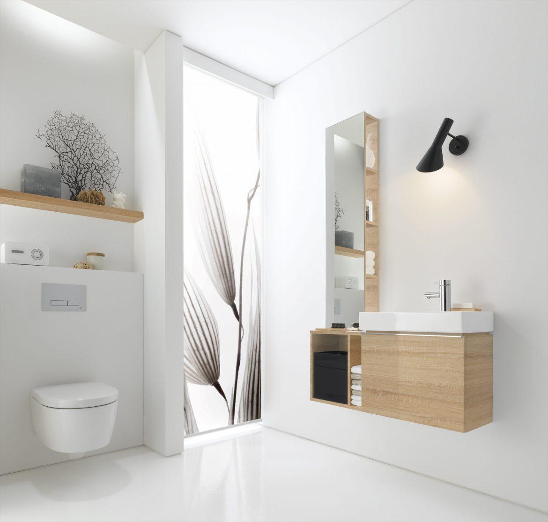 Naturel hout verwerken in je badkamer om je woonstijl compleet te maken, dit kan bij Badkamerxxl in het Woonforum Groningen.
