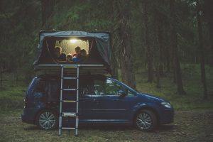 iKamper Bernhard 8 mini kampeer- en daktentshow in het woonforum